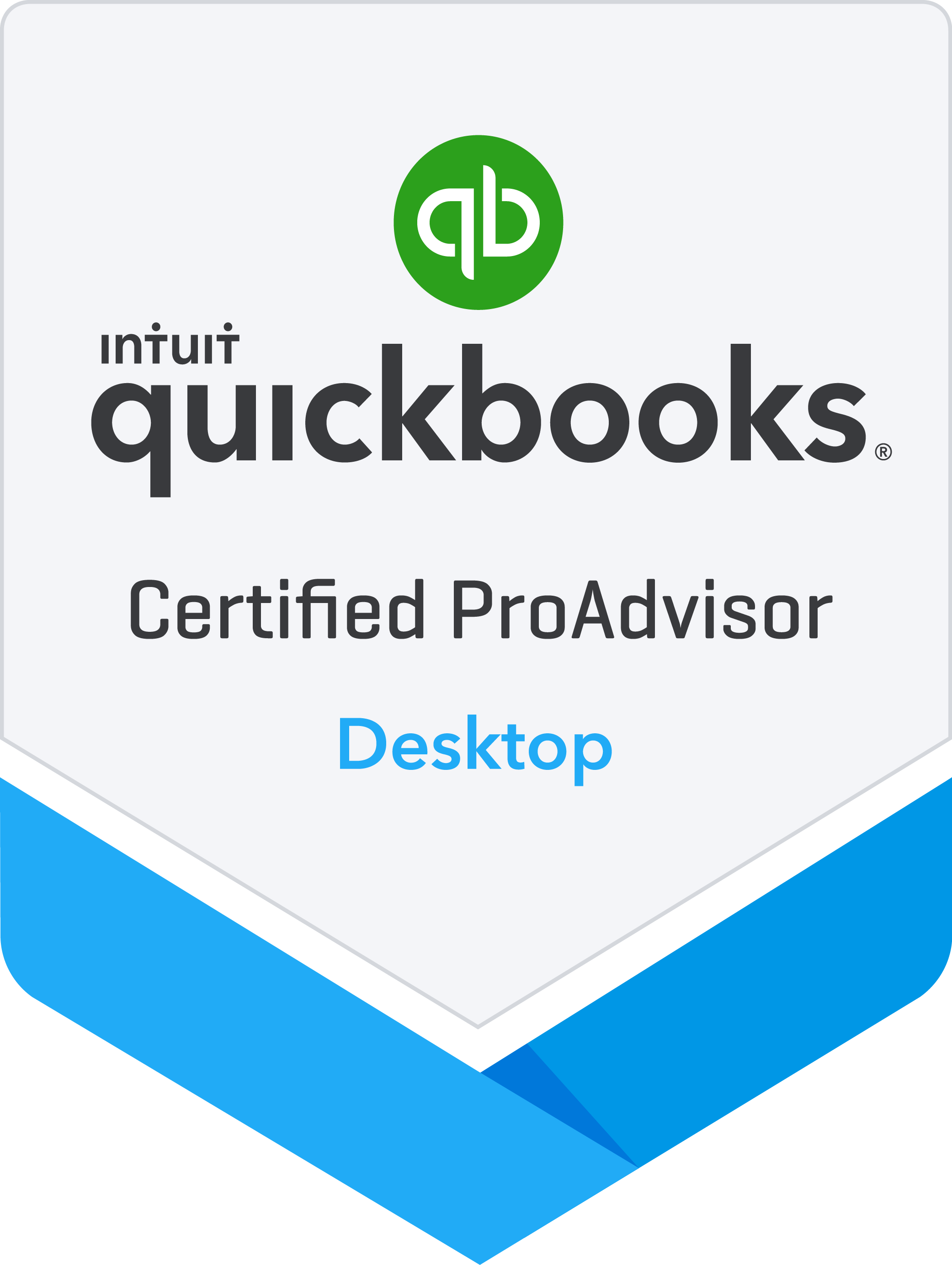 Quick Books Desktop Certified ProAdvisor